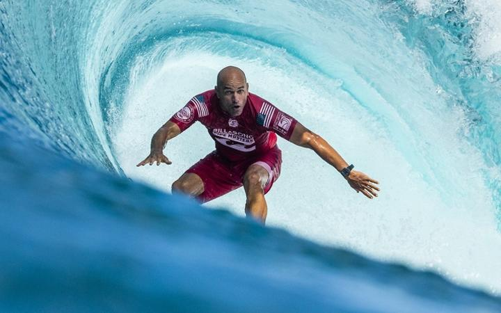 Surfing legend Kelly Slater will compete in New Zealand for the first time since 1993.