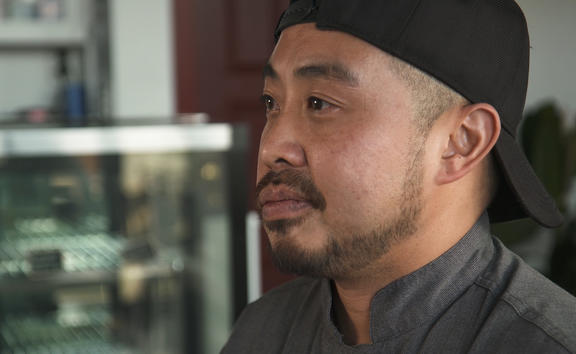 Big Fish chef and owner William Chung.