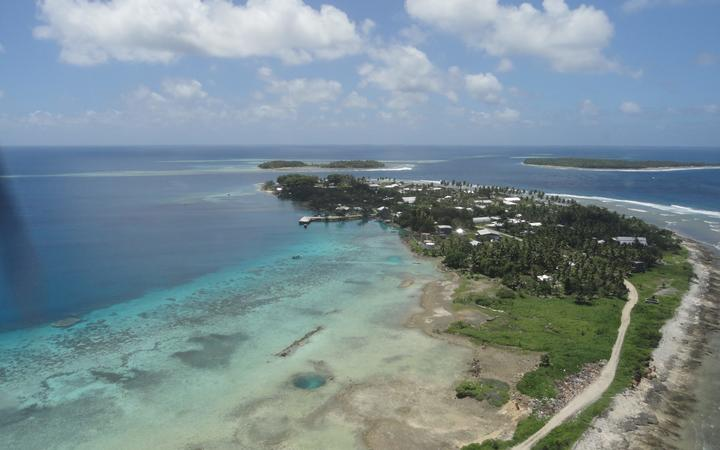 Five Marshall Islanders in a small boat drifted into Jaluit Atoll after nine days of drifting