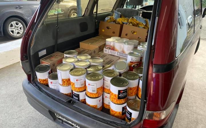 Vinnies Hamilton food parcels