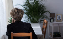 Half of the people living alone said they felt lonely, compared to 34 percent of people living with others.