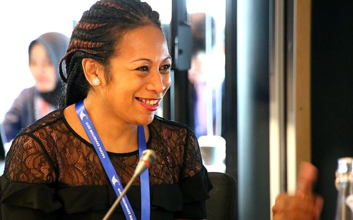 Fiji's Ana Tuiketei Bolabiu making history as the first Pacific lawyer on the working roster of the International Criminal Court at the Hague