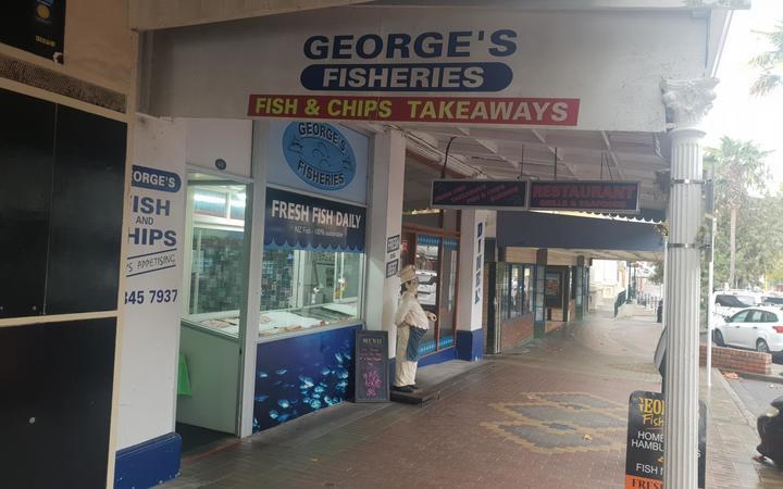 George's Fisheries in Whanganui.