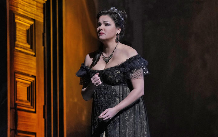Anna Netrebko as Tosca at The Met