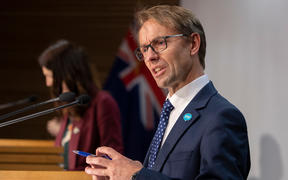 Director-General of Health Dr Ashley Bloomfield talks to media during a Covid-19 coronavirus briefing on 6 May, 2020.