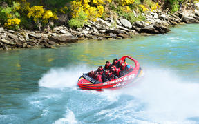 Shotover Jet in Queenstown.