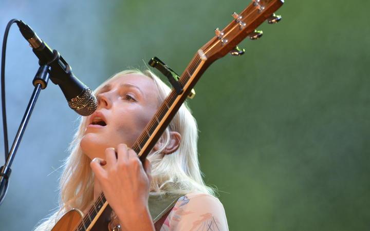 Laura Marling performing at WOMAD 2020