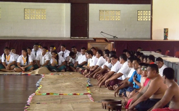 Reconciliation between two Samoa colleges, Avele and Malua fou.