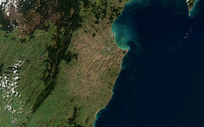 A Nasa image of the wider Hawke's Bay region taken on 29 April, 2020.