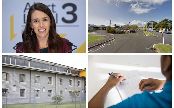 In today's coronavirus updates, Prime Minister Jacinda Ardern announced the country would return to alert level 2, three nurses from a hospital tested positives, schools look towards changes, and a woman with the virus was jailed.
