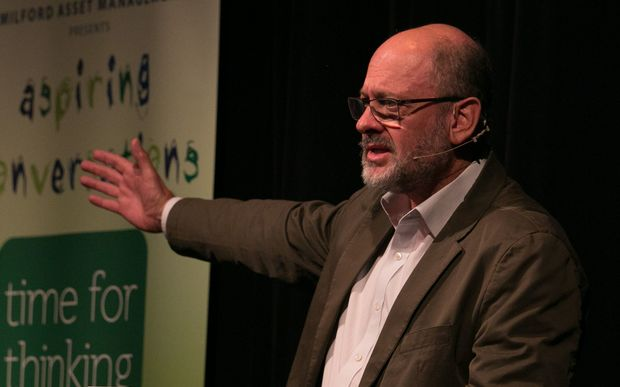 Tim Flannery visited New Zealand for Wanaka's Aspiring Conversations festival last month.