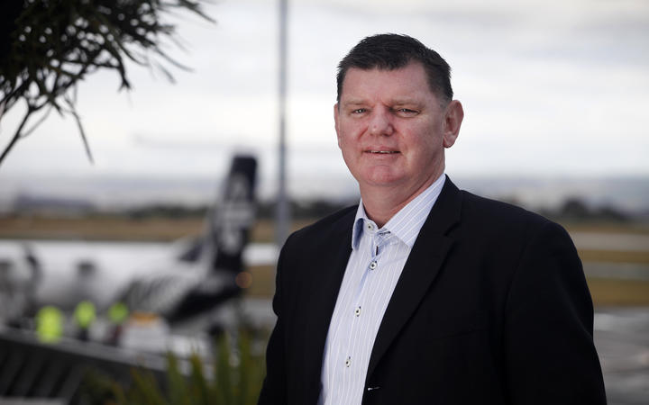Nelson Airport chief executive Rob Evans