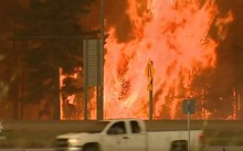 Thousands of people are fleeing Fort McMurray in Canada as a fire threatens the city.