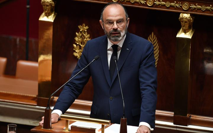 French Prime Minister Edouard Philippe speaks to the National Assembly about the government's plan to exit from the lockdown.