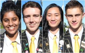 Auckland's Massey High School students.
