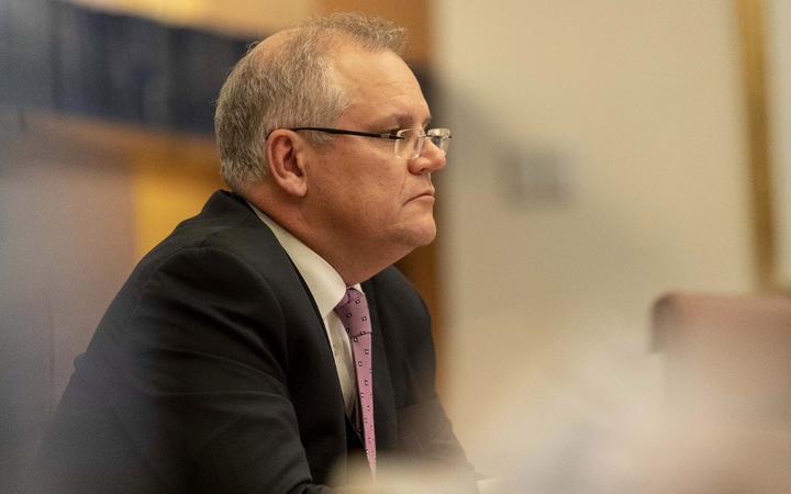 Australian Prime Minister Scott Morrison .