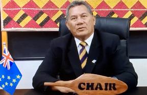 Pacific Islands Forum chair and prime minister of Tuvalu, Kausea Natano.