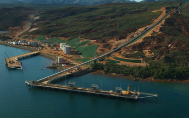 Port of New Caledonia's Vale nickel plant