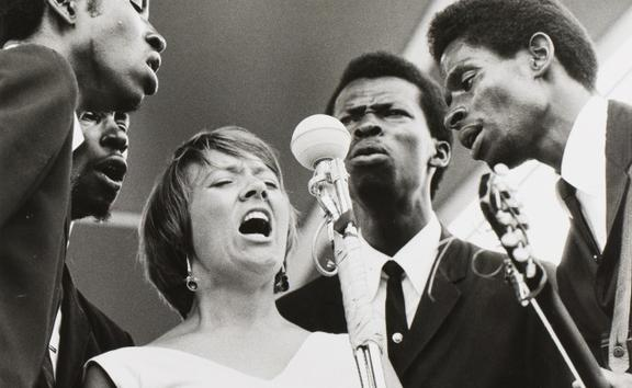 Barbara Dane and The Chambers Brothers, cover image of their 1966 album