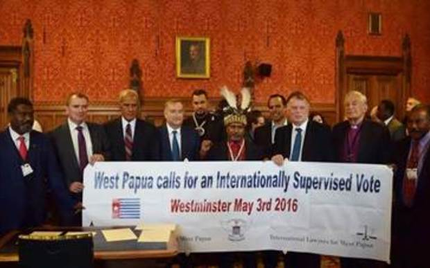 International Parliamentarians for West Papua meet in London, May 2016.