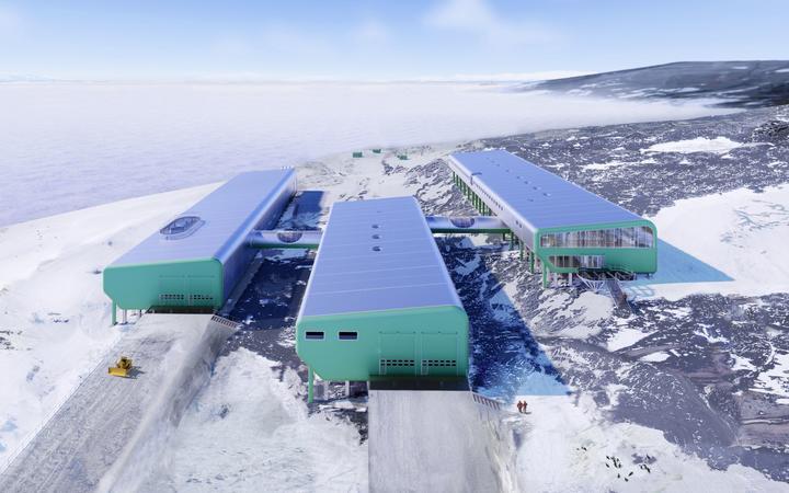 Timaru's mayor makes case for Antarctic Scott Base build