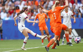 The US v Netherlands final  in the 2019 FIFA Women's World Cup in Lyon.
