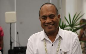 The president of Kiribati, Tantei Maamau, at the 2019 Pacific Islands Forum summit in Tuvalu.