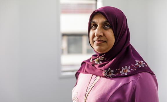 Anjum Rahman, Assistant  Co-ordinator of the Islamic Women's Council