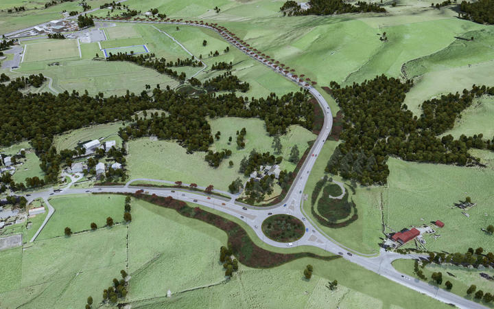 The Matakana Link Road project will join up Matakana Road to State Highway 1, north of Auckland.