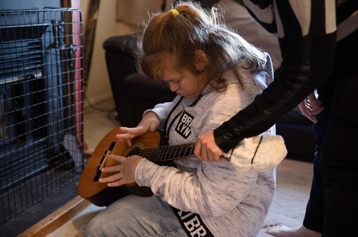 Kran Radford's daughter Skyla suffers from Angleman's syndrome, cerebral palsy and epilepsy and needs around the clock care at her Auckland home.
