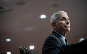 Anthony Fauci, director of the National Institute of Allergy and Infectious Diseases, listens during a Senate Health, Education, Labor and Pensions Committee hearing in Washington, DC, on 30 June, 2020.