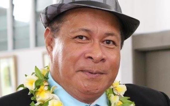Niue Finance Minister, Crossley Tatui