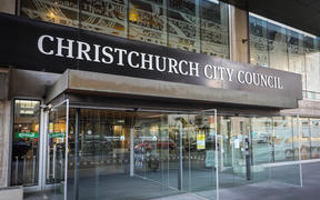 Exterior shots of Chch city council building