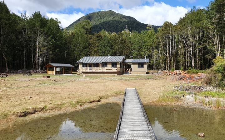 Popular West Coast hut open again after rebuild