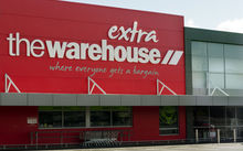 The Warehouse shop in Auckland