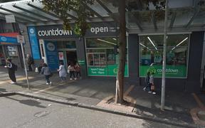 Countdown supermarket on Victoria Street in central Auckland.