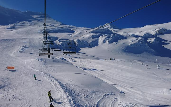 The High Noon chairlift at Turoa ski field