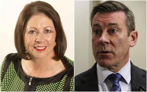 Michelle Boag and Michael Woodhouse.