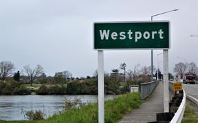 Entrance to Westport.