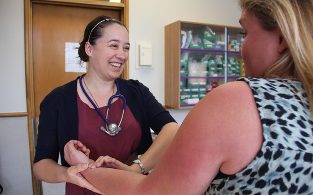 Young doctor Laura Hammersley can't wait to start working a rural community
