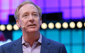 Microsoft Corporation President Brad Smith.