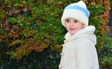 Child in woollen hat