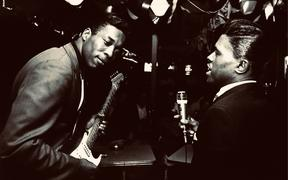 Buddy Guy & the late Junior Wells back in the 60's