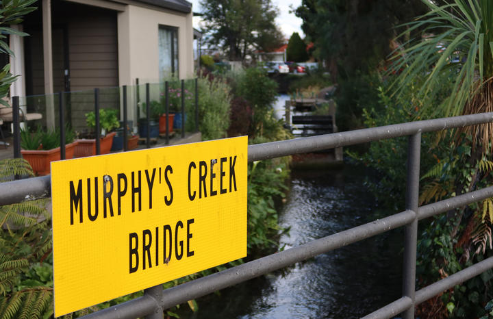 The council wants to put more stormwater into Murphy's Creek.