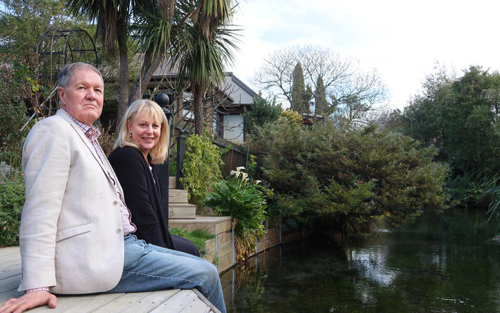 Springlands residents Helen and Tony Smale want the Marlborough District Council to treat Murphy's Creek, pictured, as an ecosystem first and a drain second.