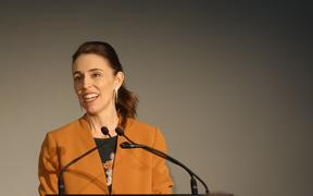 Prime Minister Jacinda Ardern launched - and renamed - the national new energy development centre in Taranaki.