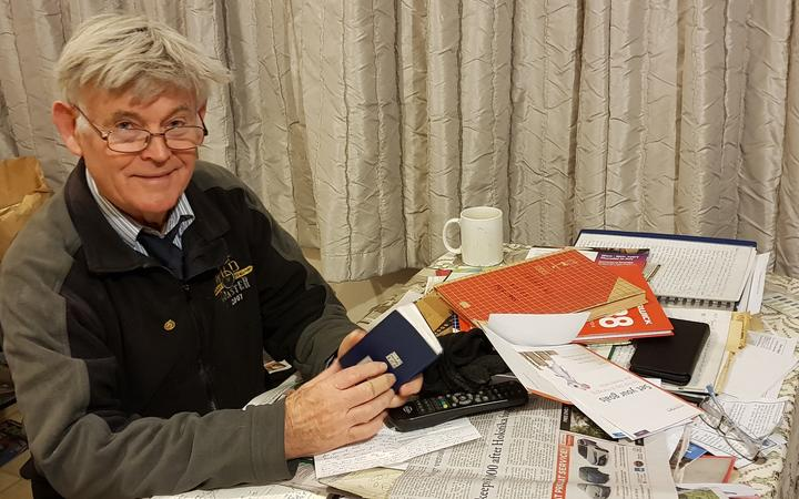 Tony Fortune has been keeping records of Reefton weather since he was a boy.