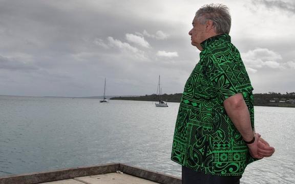 Antonio Guterres in Vanuatu.