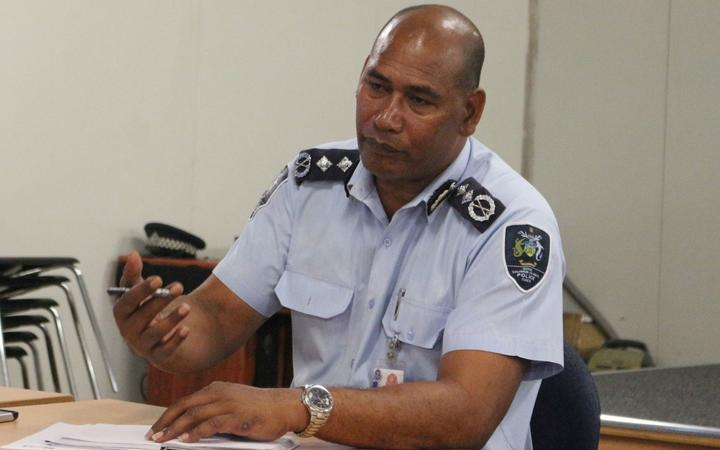 Solomon Islands Police Commissioner Mostyn Mangau had been acting in the role since the departure of his predecessor Matthew Varley in November 2019.