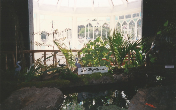 Eel McPherson's home at the Museum of Fishes in the mid-90s.